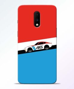 Racing Car Oneplus 7 Mobile Cover
