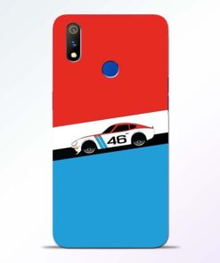 Racing Car Realme 3 Pro Mobile Cover