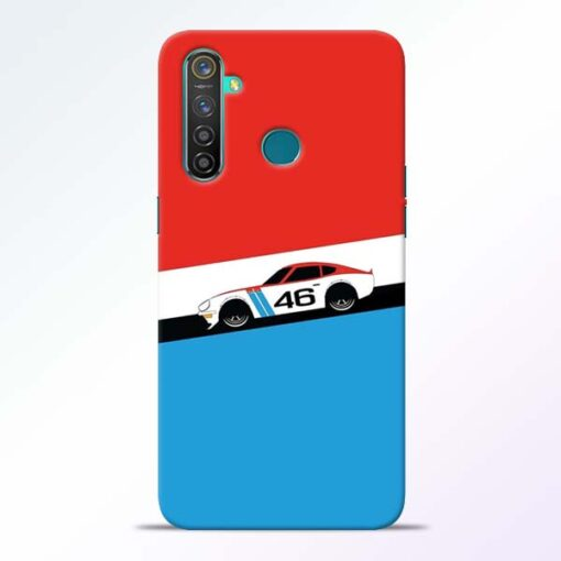 Racing Car Realme 5 Pro Mobile Cover