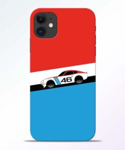 Racing Car iPhone 11 Mobile Cover - CoversGap