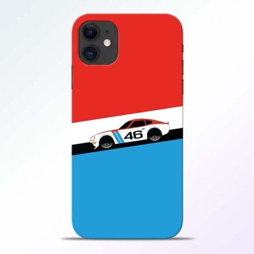 Racing Car iPhone 11 Mobile Cover - CoversGap