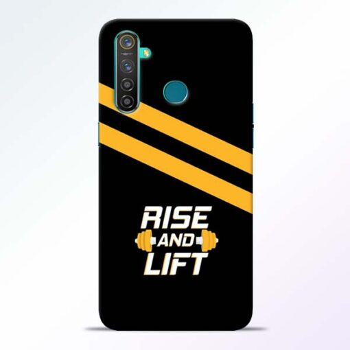 Rise and Lift Realme 5 Pro Mobile Cover