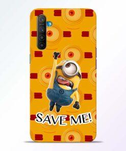 Save Minion Realme XT Mobile Cover