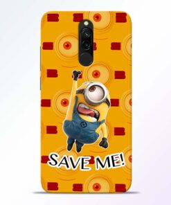Save Minion Redmi 8 Mobile Cover