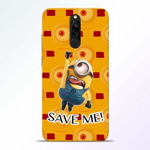 Save Minion Redmi 8 Mobile Cover