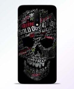 Skull Face Oneplus 7 Mobile Cover