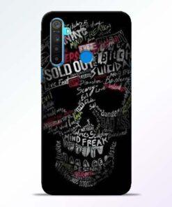 Skull Face Realme 5 Mobile Cover