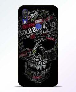 Skull Face Redmi Note 7 Pro Mobile Cover - CoversGap