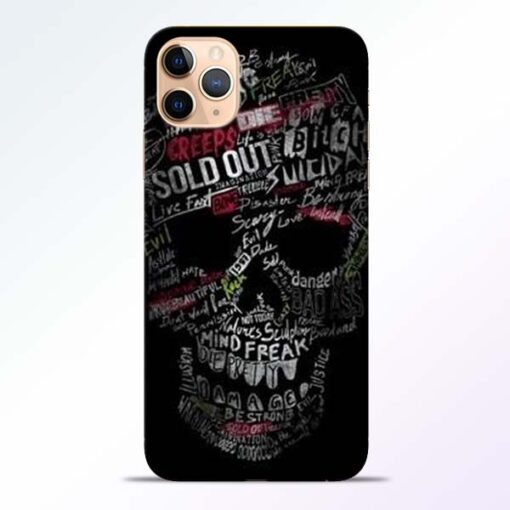 Skull Face iPhone 11 Pro Mobile Cover - CoversGap