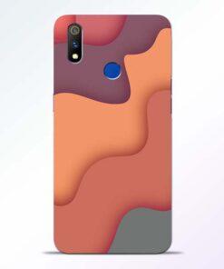 Spill Color Art Realme 3 Pro Mobile Cover