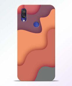 Spill Color Art Redmi Note 7 Pro Mobile Cover - CoversGap