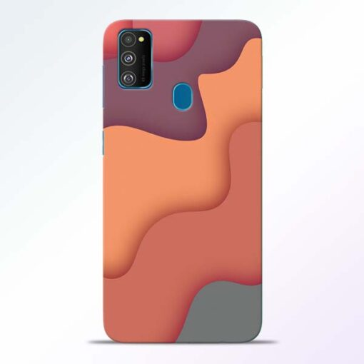 Spill Color Art Samsung Galaxy M30s Mobile Cover