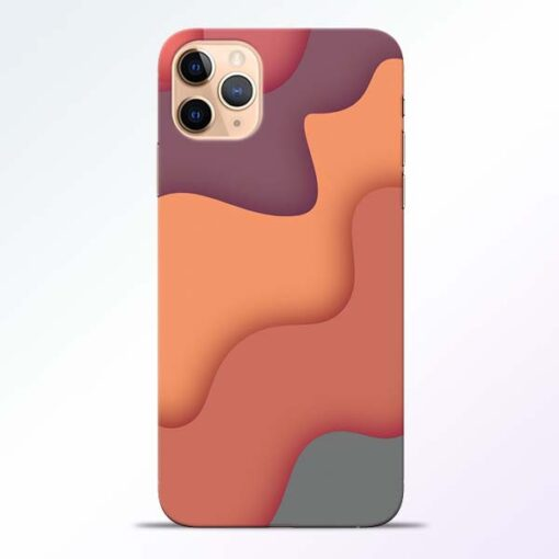 Spill Color Art iPhone 11 Pro Mobile Cover - CoversGap