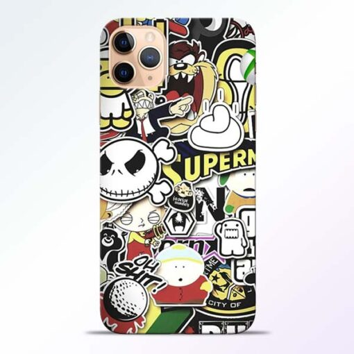 Sticker Bomb iPhone 11 Pro Mobile Cover - CoversGap