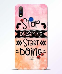 Stop Dreaming Realme 3 Pro Mobile Cover