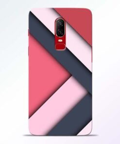 Texture Design Oneplus 6 Mobile Cover