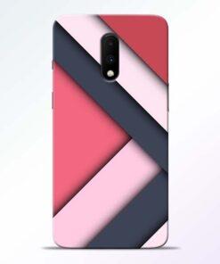 Texture Design Oneplus 7 Mobile Cover