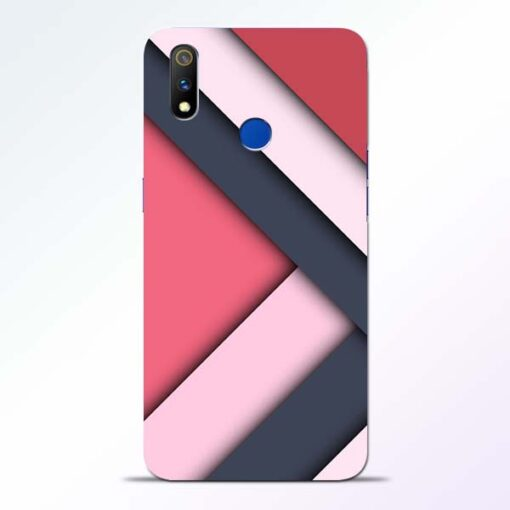 Texture Design Realme 3 Pro Mobile Cover