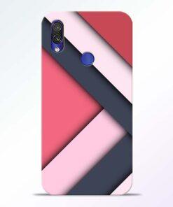 Texture Design Redmi Note 7 Pro Mobile Cover - CoversGap