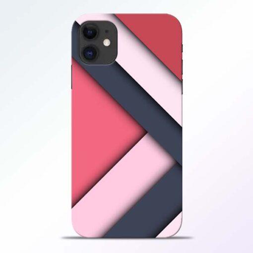 Texture Design iPhone 11 Mobile Cover - CoversGap