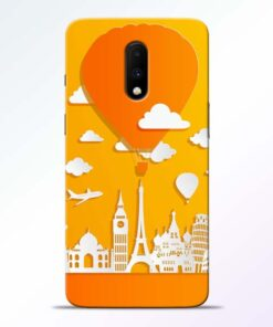 Traveller Oneplus 7 Mobile Cover