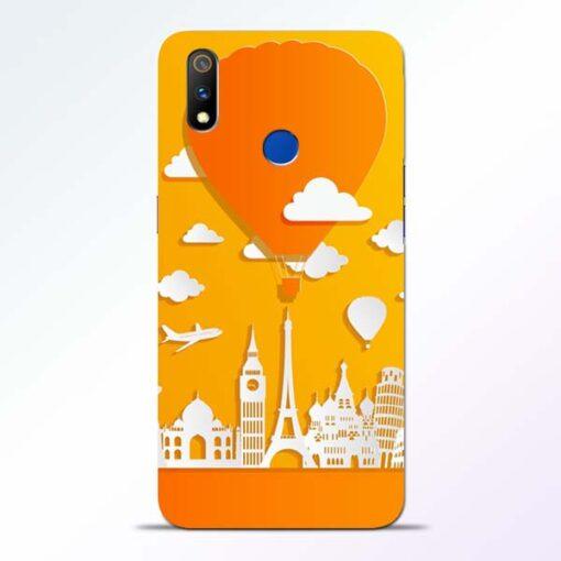 Traveller Realme 3 Pro Mobile Cover