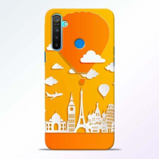 Traveller Realme 5 Mobile Cover