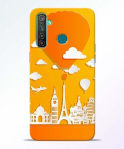 Traveller Realme 5 Pro Mobile Cover