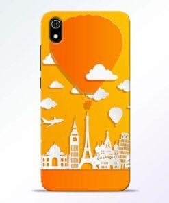 Traveller Redmi 7A Mobile Cover - CoversGap