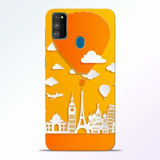 Traveller Samsung Galaxy M30s Mobile Cover