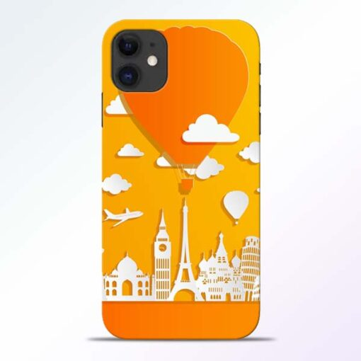 Traveller iPhone 11 Mobile Cover - CoversGap