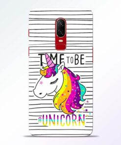 Unicorn Horse Oneplus 6 Mobile Cover