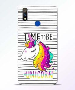 Unicorn Horse Realme 3 Pro Mobile Cover