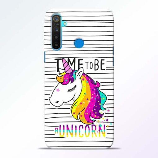 Unicorn Horse Realme 5 Mobile Cover