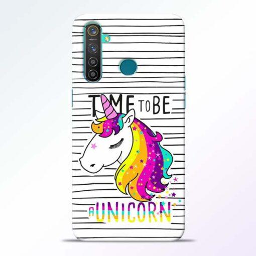 Unicorn Horse Realme 5 Pro Mobile Cover