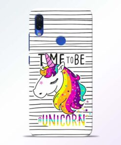 Unicorn Horse Redmi Note 7s Mobile Cover - CoversGap