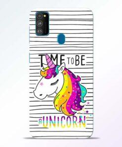 Unicorn Horse Samsung Galaxy M30s Mobile Cover