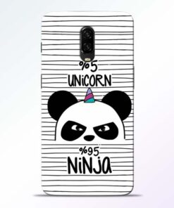 Unicorn Panda Oneplus 6T Mobile Cover