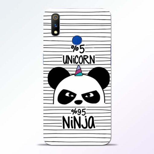 Unicorn Panda Realme 3 Pro Mobile Cover