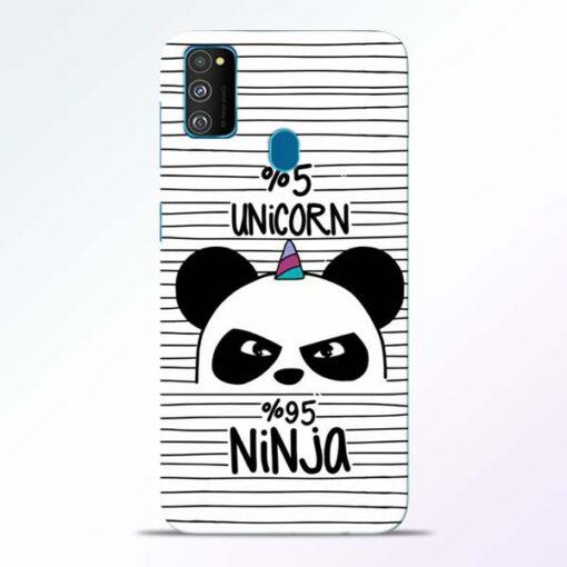 Unicorn Panda Samsung Galaxy M30s Mobile Cover