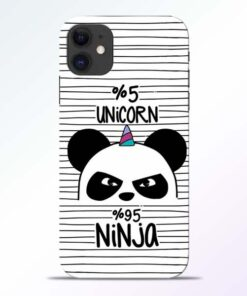 Unicorn Panda iPhone 11 Mobile Cover - CoversGap