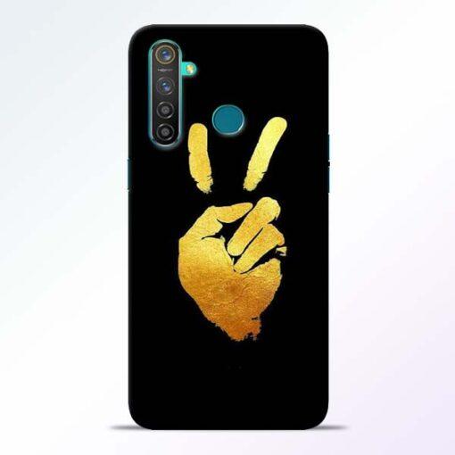 Victory Hand Realme 5 Pro Mobile Cover