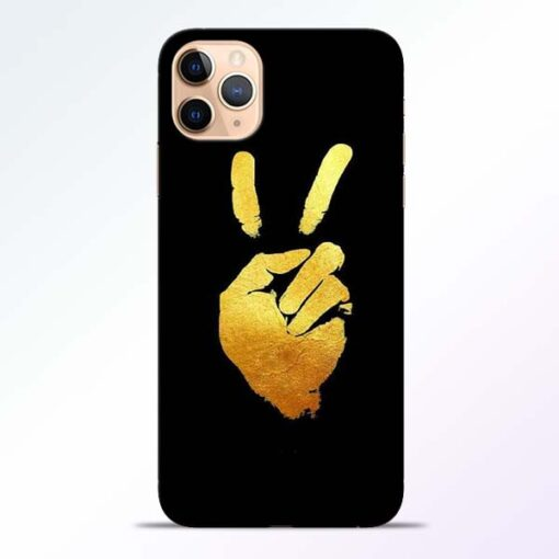 Victory Hand iPhone 11 Pro Mobile Cover - CoversGap
