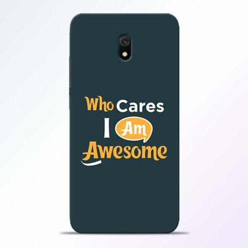 Who Cares Redmi 8A Mobile Cover