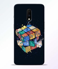 Wolrd Dice Oneplus 7 Mobile Cover