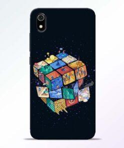 Wolrd Dice Redmi 7A Mobile Cover - CoversGap