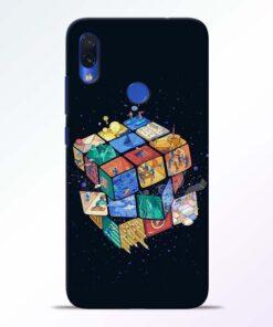 Wolrd Dice Redmi Note 7s Mobile Cover - CoversGap