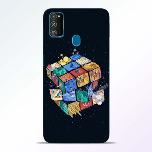 Wolrd Dice Samsung Galaxy M30s Mobile Cover