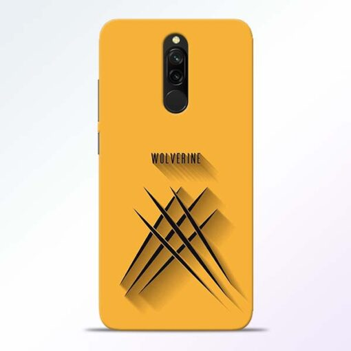 Wolverine Redmi 8 Mobile Cover