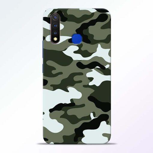 Army Camo Vivo U20 Mobile Cover